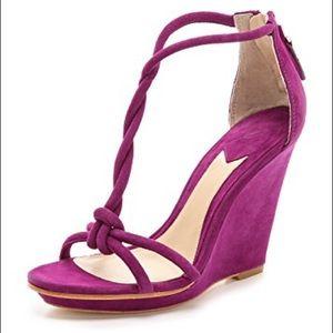 Brian Atwood Priscilla Heels Purple Size 7